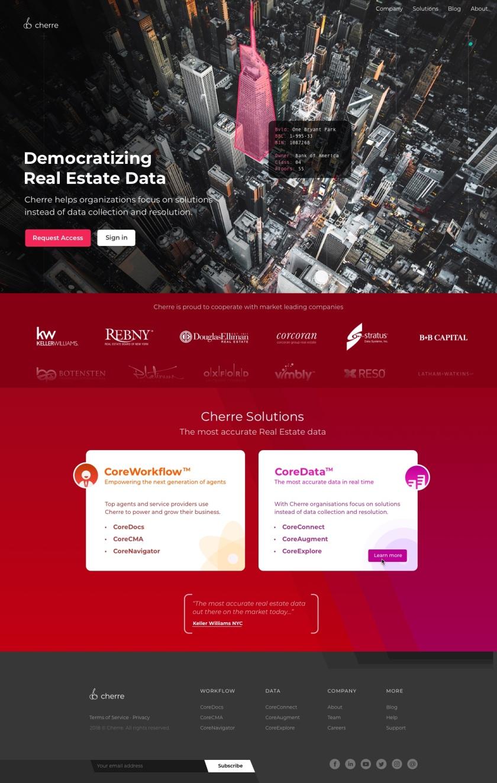 Cherre (Homepage)